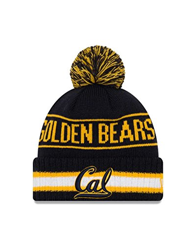 Cal Golden Bears College Vintage Select Knit Pom Beanie - Navy, One Size