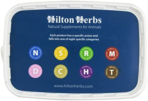 Hilton Herbs Echinacea Plus Herbal Supplement for Healthy Immune System in Horses, 1kg Tub