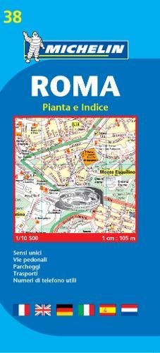 Plan Michelin Rome (Italien) Carte – 18 avril 2006 Collectif Michelin 2067117106 Karten / Stadtpläne / Europa Voyages / Cartes et Plans