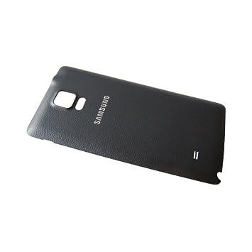 Carcasa trasera negra para Samsung Galaxy Note 4, carcasa de ...