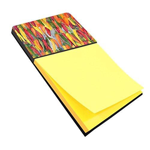 Caroline's Treasures Hot Peppers Refillable Sticky Note H...