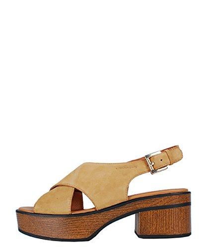 Vagabond Noor Natural Beige Sandal–Sandalias Beige Piel Ante Beige