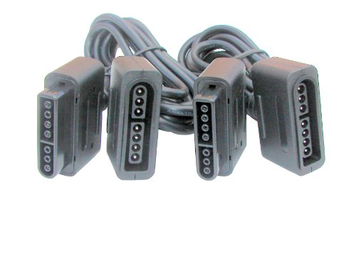 Global Game Gear GGG0034 SNES Extension Cables (2)