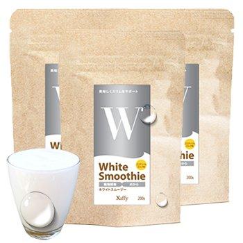 xaffy(ザフィ) ダイエット酵素スムージー 選べるフレーバー 200g×3袋セット ホワイト B06XFTFH6Q