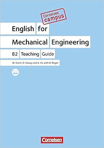 Cornelsen Campus: English for Mechanical Engineering. Handreichungen ...