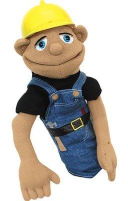 STEMtoys Construction Worker Hand Puppet