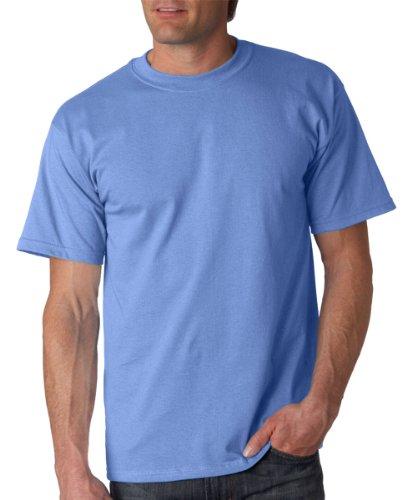 Gildan Men's Ultra Cotton Tee, Carolina Blue, - Ultra T-shirt Heavyweight Cotton