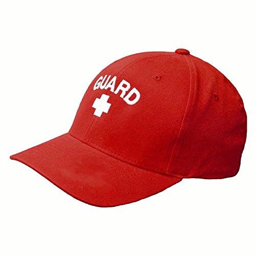 Kemp USA Lifeguard Cap - Red/White ()