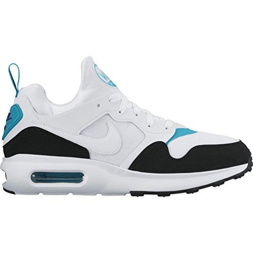 65445cd0d8d6e Galleon - Nike Men's Air Max Prime Running Shoe White/White-Turbo Green- Black 8.5