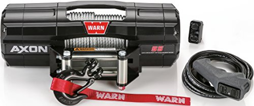 WARN 101155 AXON 55 Powersports Winch With Steel Rope