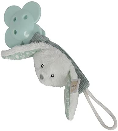 Little Dutch 4611/ Attache Sucette Lapin Adventure Menthe