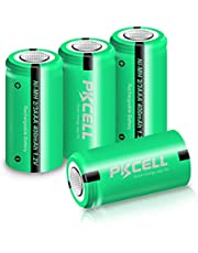 NiMH Rechargeable Battery 2/3AAA 1.2V 400mAh for Solar Lights(4pcs)