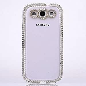 LZX LUXURY Diamond Bowknot Back Cover Case for SAMSUNG Galaxy S3 I9300