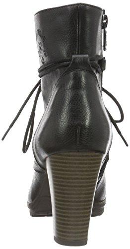 Tom Tailor 1690403, Zapatillas de Estar por Casa para Mujer Negro - negro