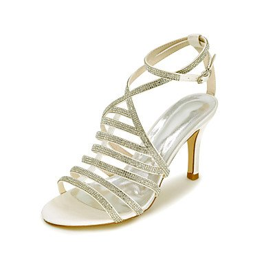 CN36 Spring Sandals US6 Wedding Fall Satin Party amp;Amp; EU36 Evening Summer Women'S Sandals UK4 gT4wO4q