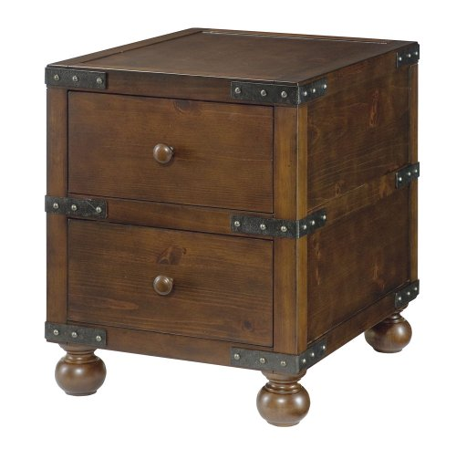 Hammary Hidden Treasures Trunk End Table by Hammary