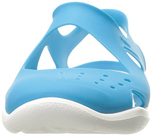 Wave Donna Blue Sabot Crocs Electric Swiftwater 1qgxFF
