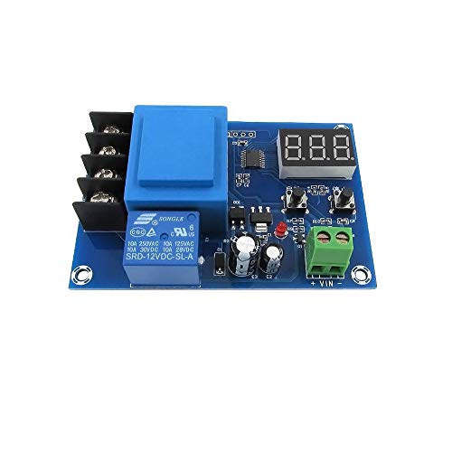 Greatstar Numerical Control Digital Battery Charge Controller Protection Switch for DC 3.5V-120V Lead Acid Lithium Solar Panel Battery