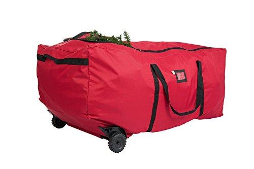 Santa's Bag EZ Rolling 9FT Rolling Tree Storage Duffel Bag, Fits 6'�9' ARTIFICIAL trees