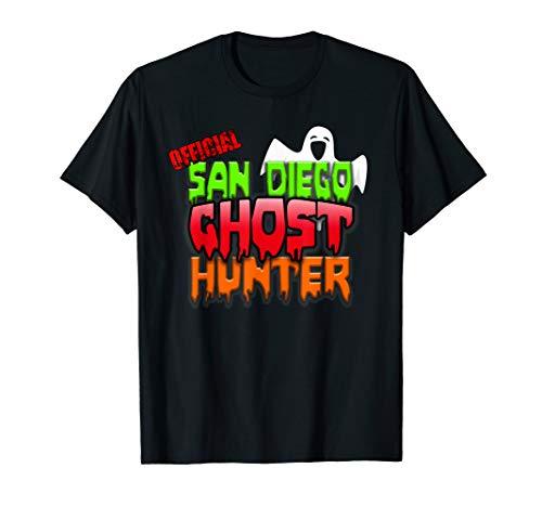 San Diego Ghost Hunter Halloween Costume Adults Kids T-Shirt