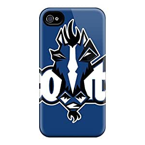 Defender Cases With Nice Appearance (indianapolis Colts) For Iphone 4/4s