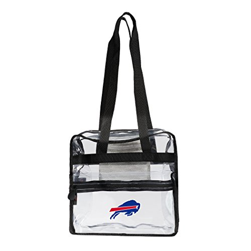 (The Northwest Company NFL Buffalo Bills Zone Stadium Friendly Tote Clear Zone Stadium Friendly Tote, Clear, One Size)