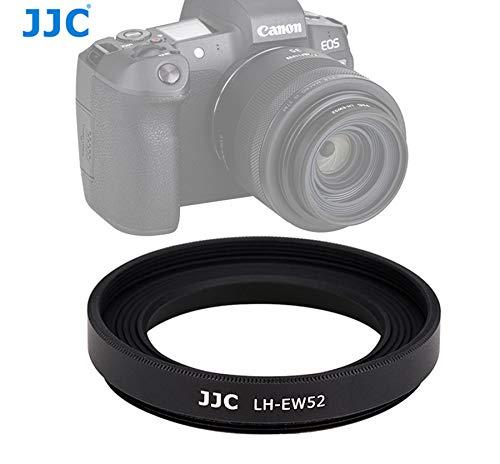 JJC LH-EW52 Metal Screw-in Lens Hood for Canon RF 35mm f1.8 Macro IS STM Lens, Canon RF 35mm f/1.8 Lens hood, Metal hood for Canon RF 35mm 1.8 Macro, replacement of Canon EW-52 lens hood