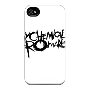 Shockproof Hard Phone Cases For Iphone 4/4s (EUG16781tcHj) Unique Design Realistic My Chemical Romance Pictures