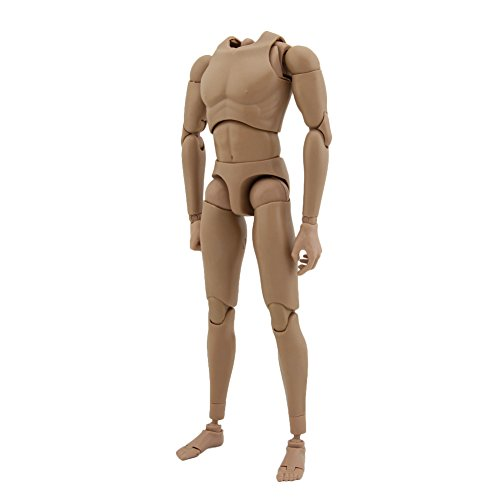 Owfeel Ver4.0 Action Muscle Male Nude Body Figure Soldier Model Toys Doll 1:6 Scale for Hot Toys