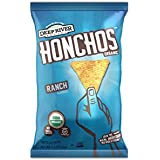 HONCHOS Ranch Tortilla Chips, Organic and Non GMO, 1.5 Ounce (Pack of 24)