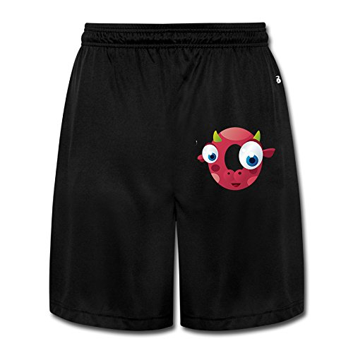 ZZYY Mens Casual Little Fish Short Sweatpants Sports Black Size M]()