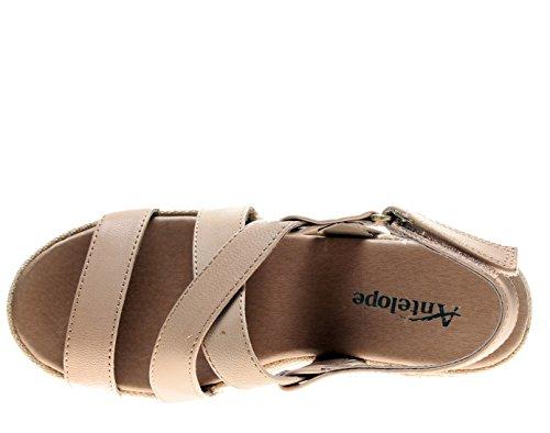 Women's 819 Classics Make Antelope Crossed Leather Up Sandals q5wnBd