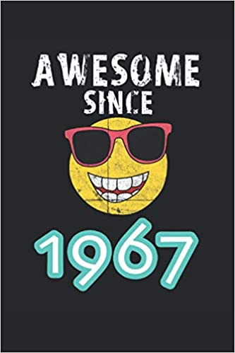 Amazon.com: Awesome Since 1967: 2021 Planner for 54th Birthday ...