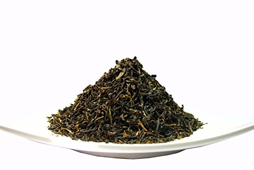 Yunnan Gongfu Black Tea, Natural China Black Tea with Excellent fullness with subtle sweetness- 8 Oz Bag