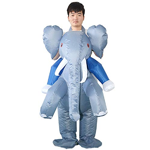 Men's Ride an Elephant Inflatable Costume -