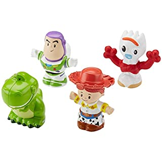Fisher-Price Little People Disney Toy Story 4 Buzz Lightyear & Friends 4-Pack