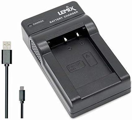 Lemix (BX1) Cargador USB Ultra Slim para baterías Sony NP-BX1 para Modelos (enumerados a continuación) Sony Cyber-Shot Serie DSC & HDR