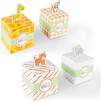 Amazon.com: Animal Selva Sweet Safari Party Pack bebé ducha ...