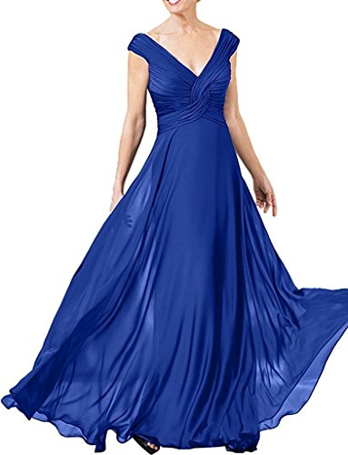 La A Rock Damen Partykleider Schwarz Linie Blau Royal mia Brautjungfernkleider Abendkleider Braut Langes Chiffon Festlichkleider qFxrq1wv7