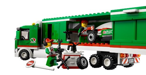 buy lego city grand prix truck online at low prices in india amazonin - Camion Lego