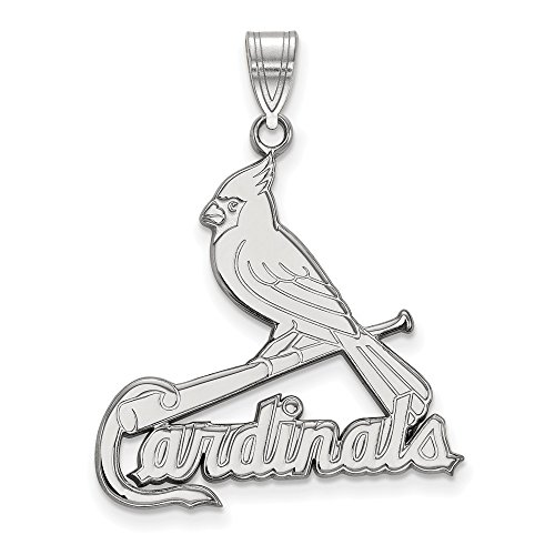 MLB St. Louis Cardinals 14kw MLB LogoArt St. Louis Cardinals XL Pendant Size One Size