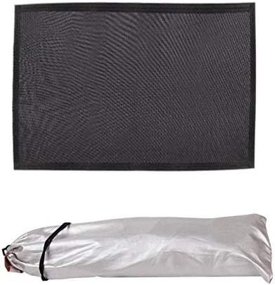 Rebuku 車のサンシェード用のサンルーフ 車の窓サンシェード UVカット 磁気スクリーン 強力な接着剤 シェーディング 虫除け 防塵 防蚊 通気しやすい 通気性のあるカーテン