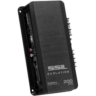 Discount Sound Storm EV200.2 Evolution 200 Watt 2 Channel 2 to 8 Ohm Stable Class A/B Full Range Car Amplifier