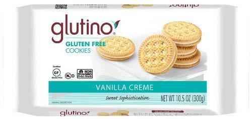 Glutino Creme Dream Cookies, Vanilla, 10.6 oz