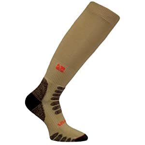 Vitalsox Sportsman OTC Medium Weight Compression Socks, Beige, Small - HF1111