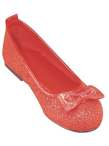 Deluxe Wizard of Oz Ruby Slippers for Kids by Rubie's