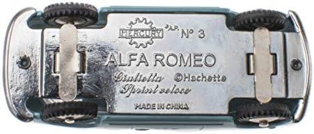 - Lot de 10 Voitures Mercedes Alfa Romeo Fiat Lancia Autobianchi 1/48 Mercury Collection par Hachette (MY01 à MY10)