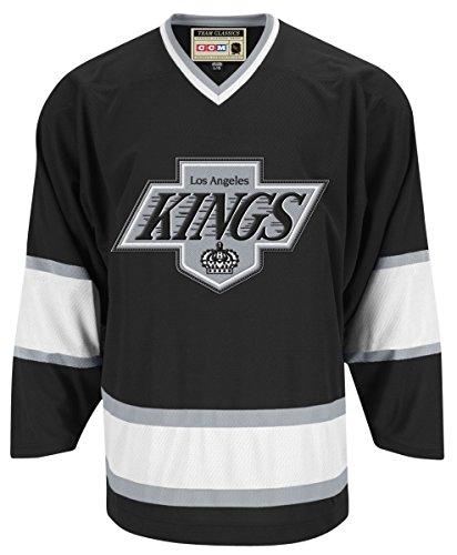 Los Angeles Kings Black Reebok Team Classic Throwback Jersey