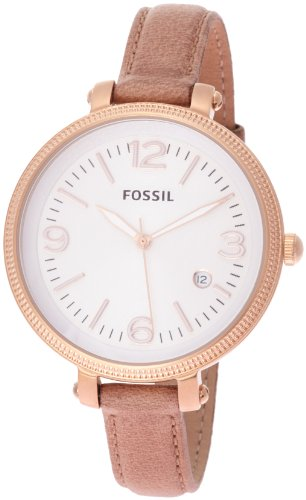 Armbanduhr damen fossil  Fossil Damen-Armbanduhr Analog Leder ES3133: Amazon.de: Uhren