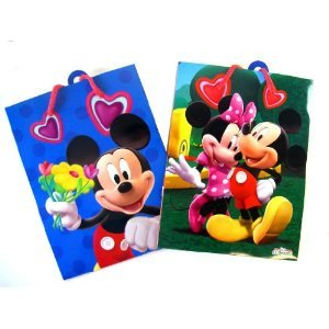Disney Mickey Mouse Gift Bags Set 2pc
